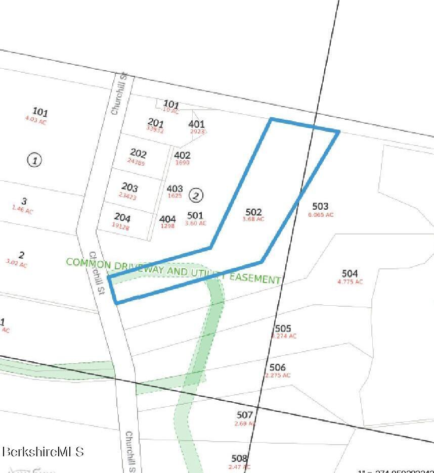 Churchill St Pittsfield MA 01201