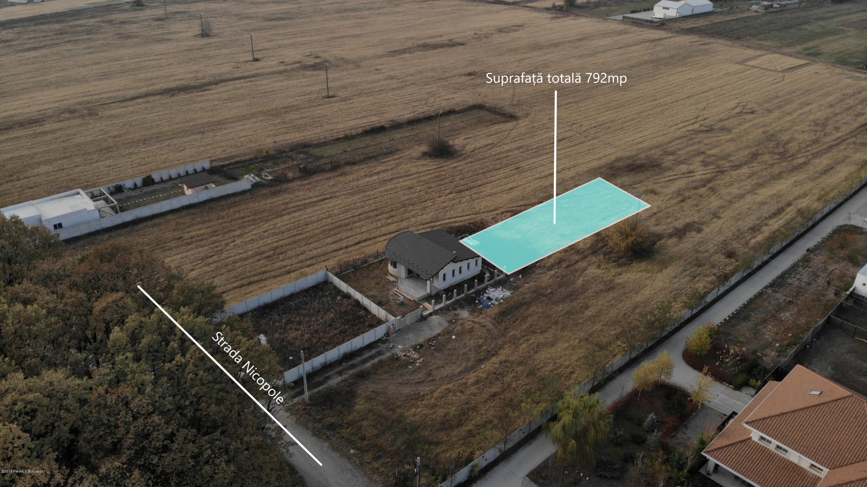 Vanzare Teren Intravilan 792 m²