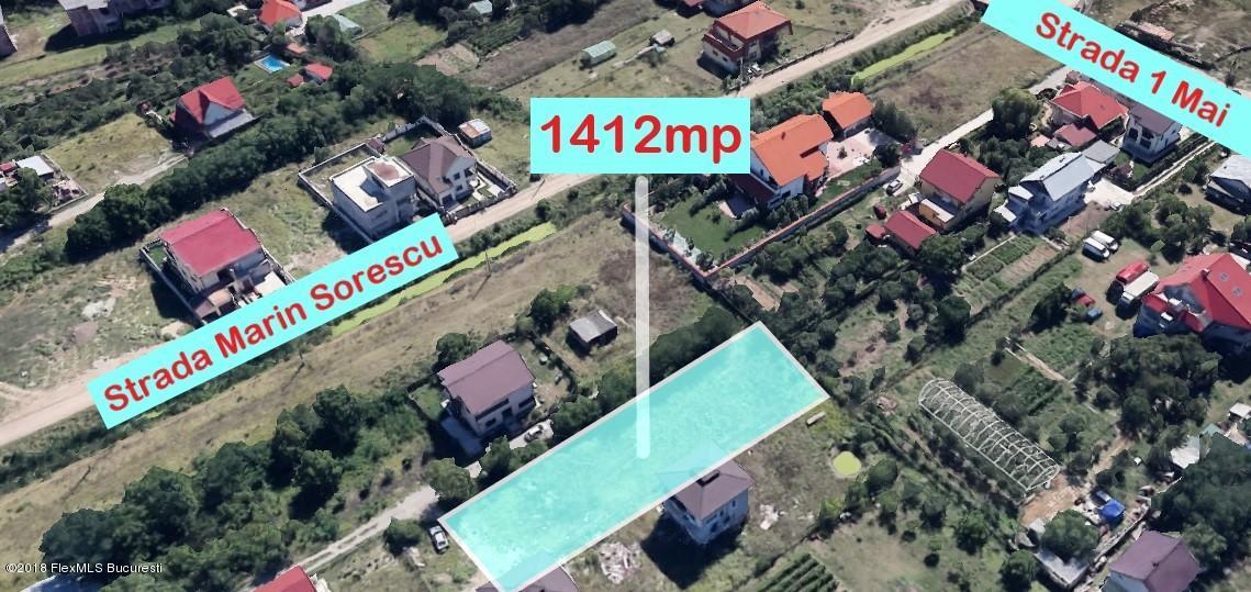 Vanzare Teren Intravilan 1412 m²