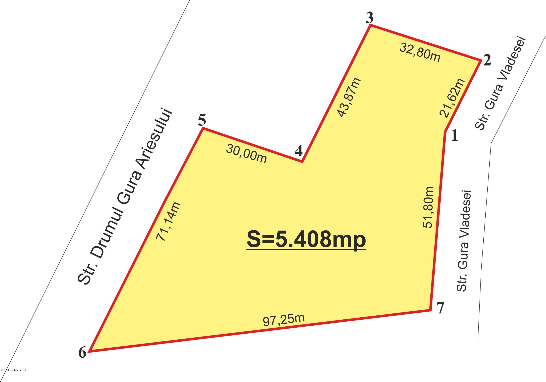 Vanzare Teren Extravilan 5408 m²