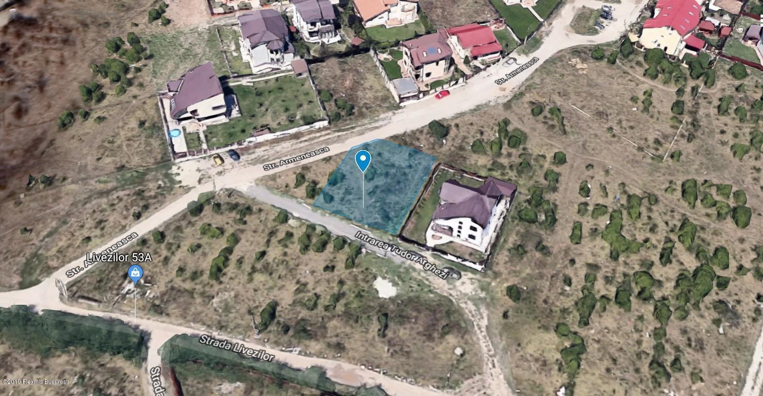 Vanzare Teren Intravilan 500 m²