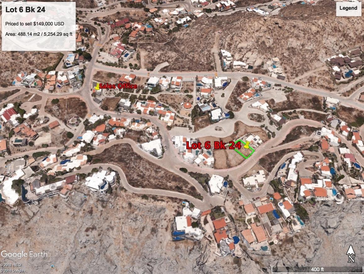 Cabo San Lucas, ,Land,For Sale,CAMINO DEL MAR,18-1079