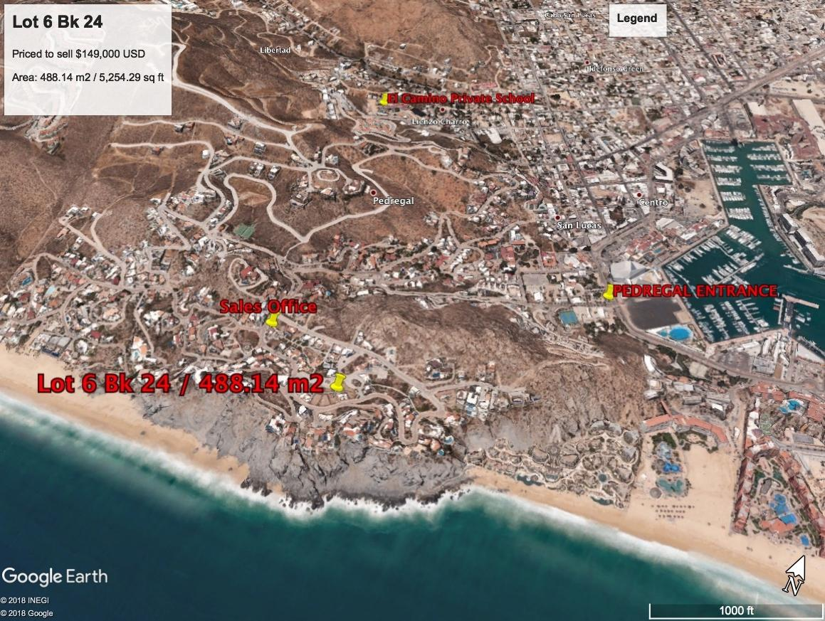 Cabo San Lucas, ,Land,For Sale,CAMINO DEL MAR,18-1079