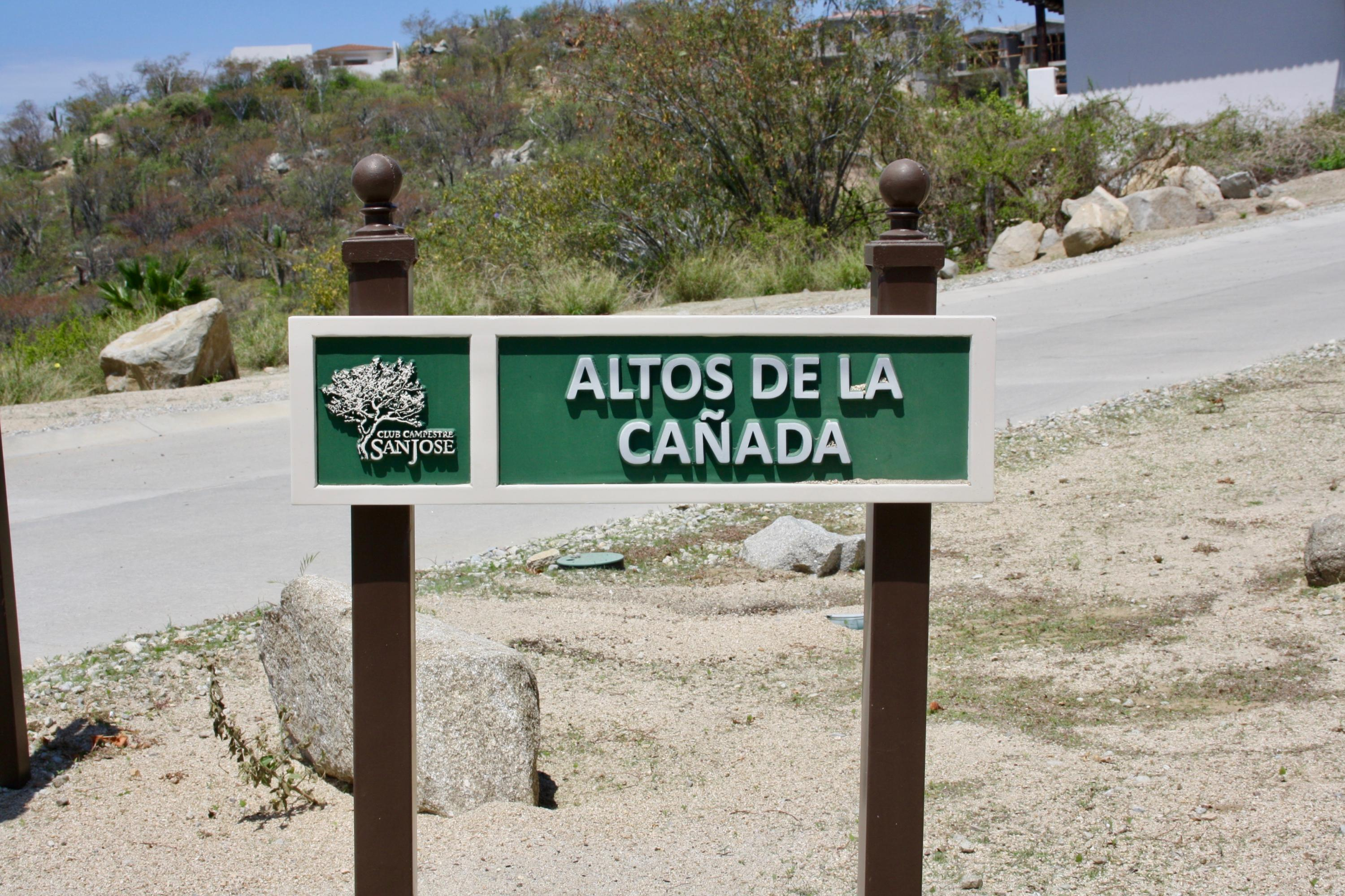 San Jose del Cabo, ,Land,For Sale,Altos de La Canadas,18-1438