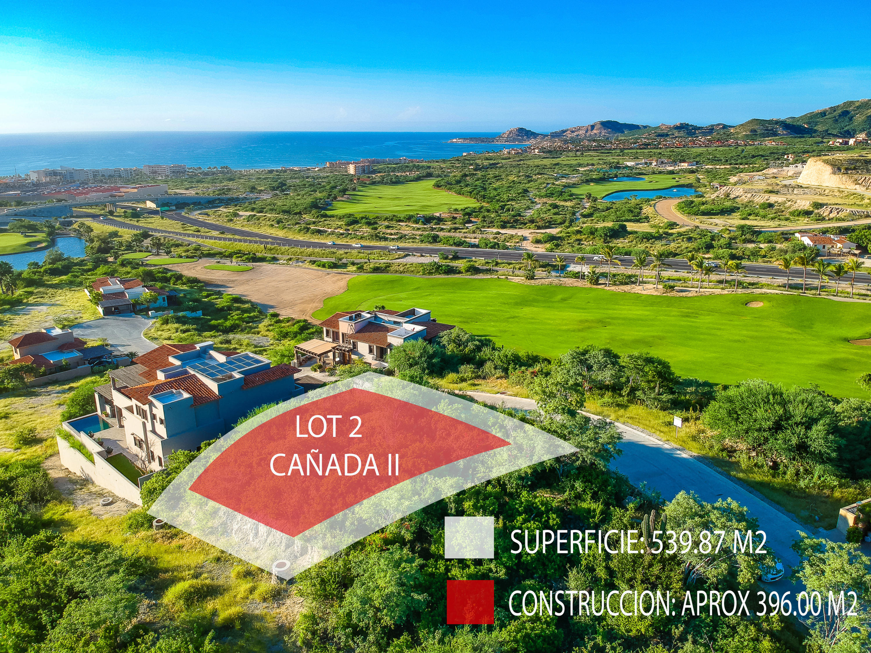 San Jose del Cabo, ,Land,For Sale,CAMINO A LA CANADA,18-1962