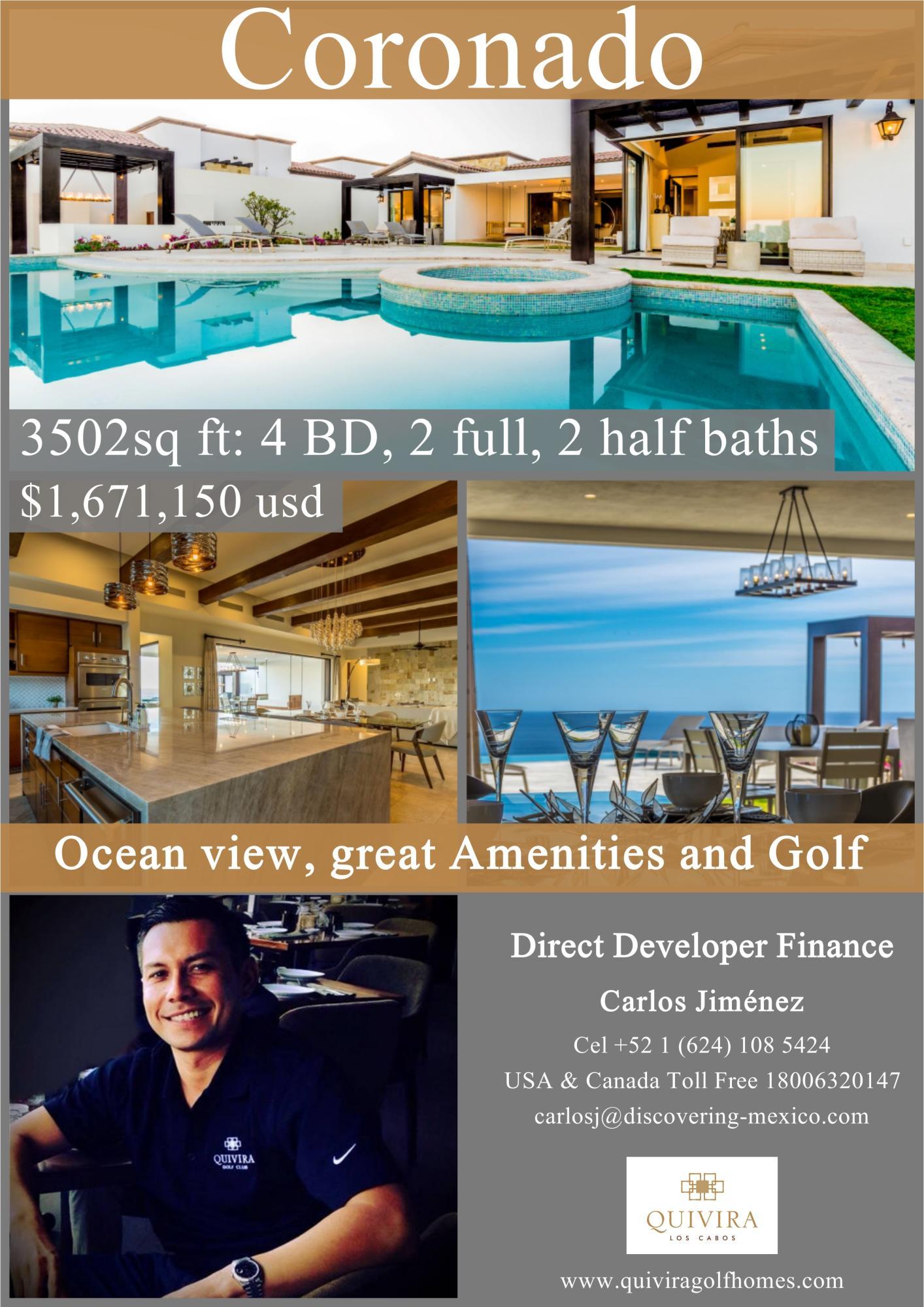 Pacific, 4 Bedrooms Bedrooms, ,4 BathroomsBathrooms,House,For Sale,Via de Lerry,18-2698