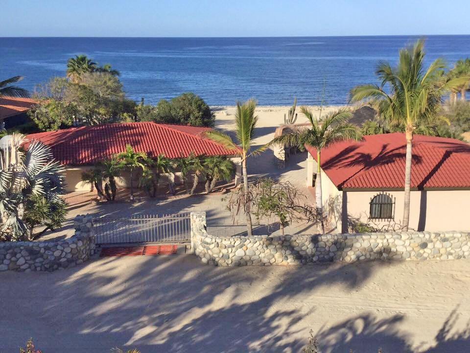 King beachfront home