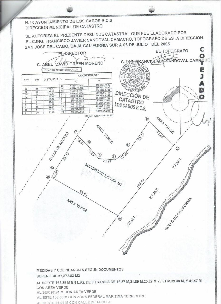 East Cape, ,Land,For Sale,Camino Cabo del Este,19-1070