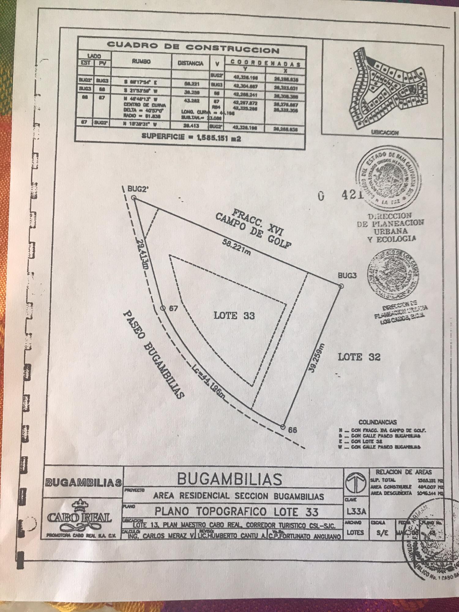San Jose Corridor, ,Land,For Sale,Paseo Bugamilias,19-1235