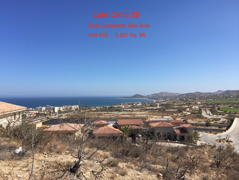 San Jose del Cabo, ,Land,For Sale,Club Camprestre San Jose,19-1425