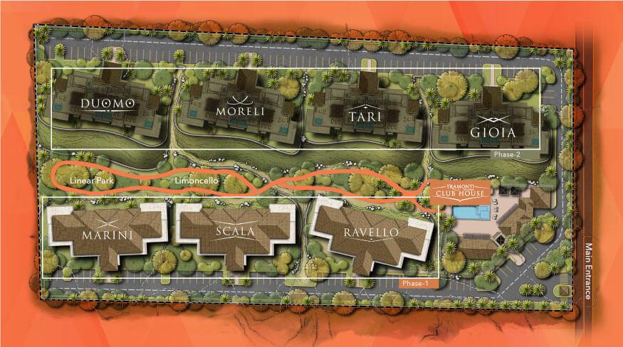 Tramonti 3 Bdrm Garden Level-82