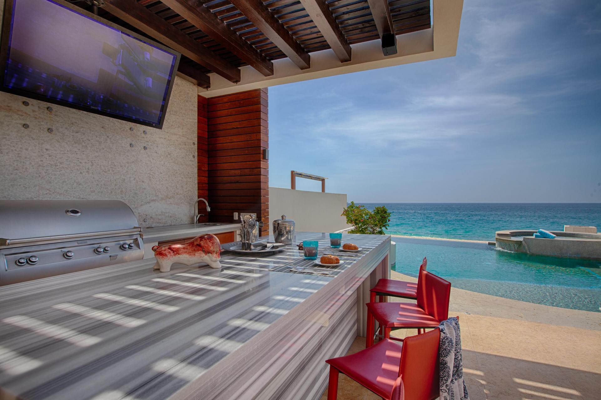 Oceanfront Villa Blue Sea-7