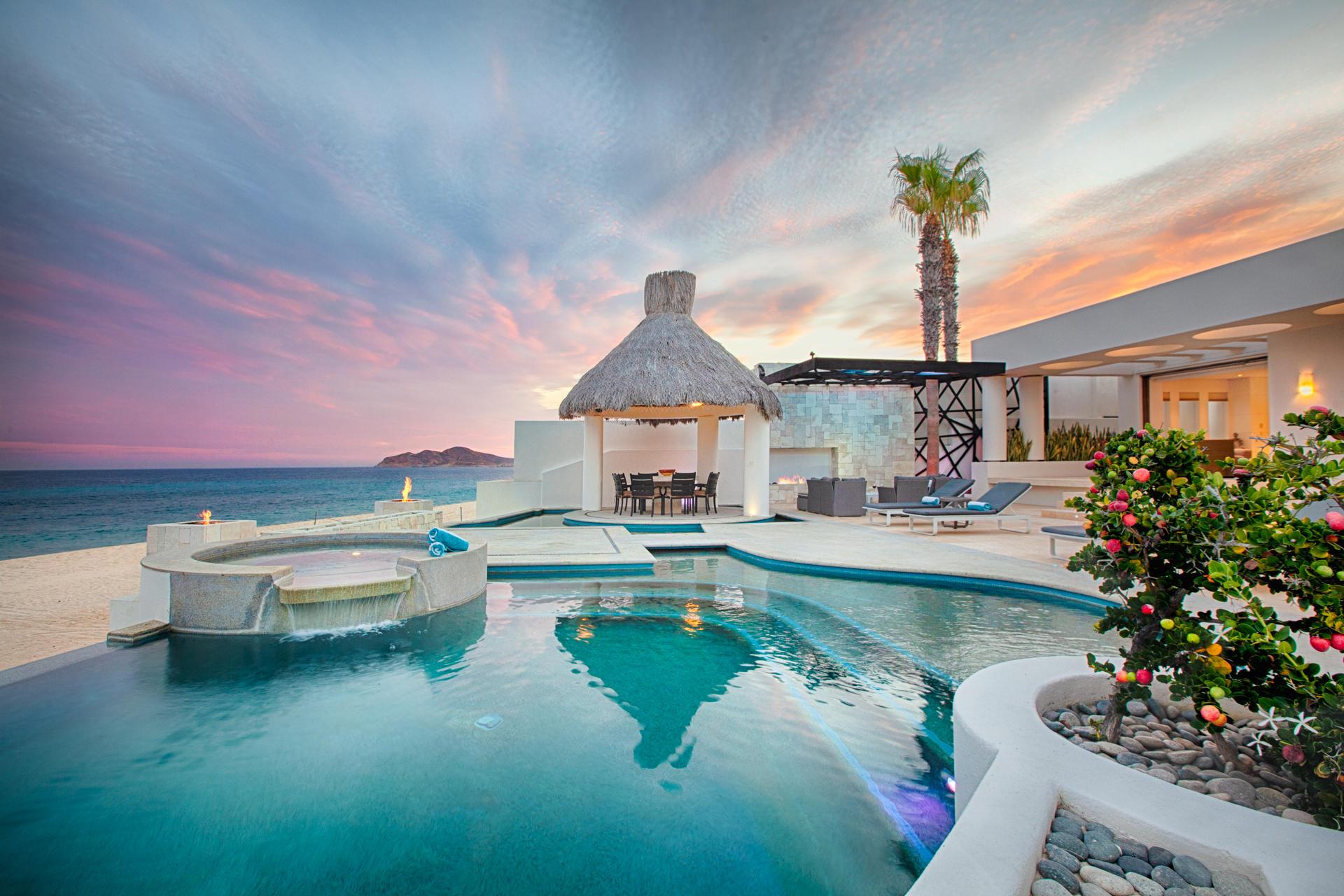Oceanfront Villa Blue Sea-38
