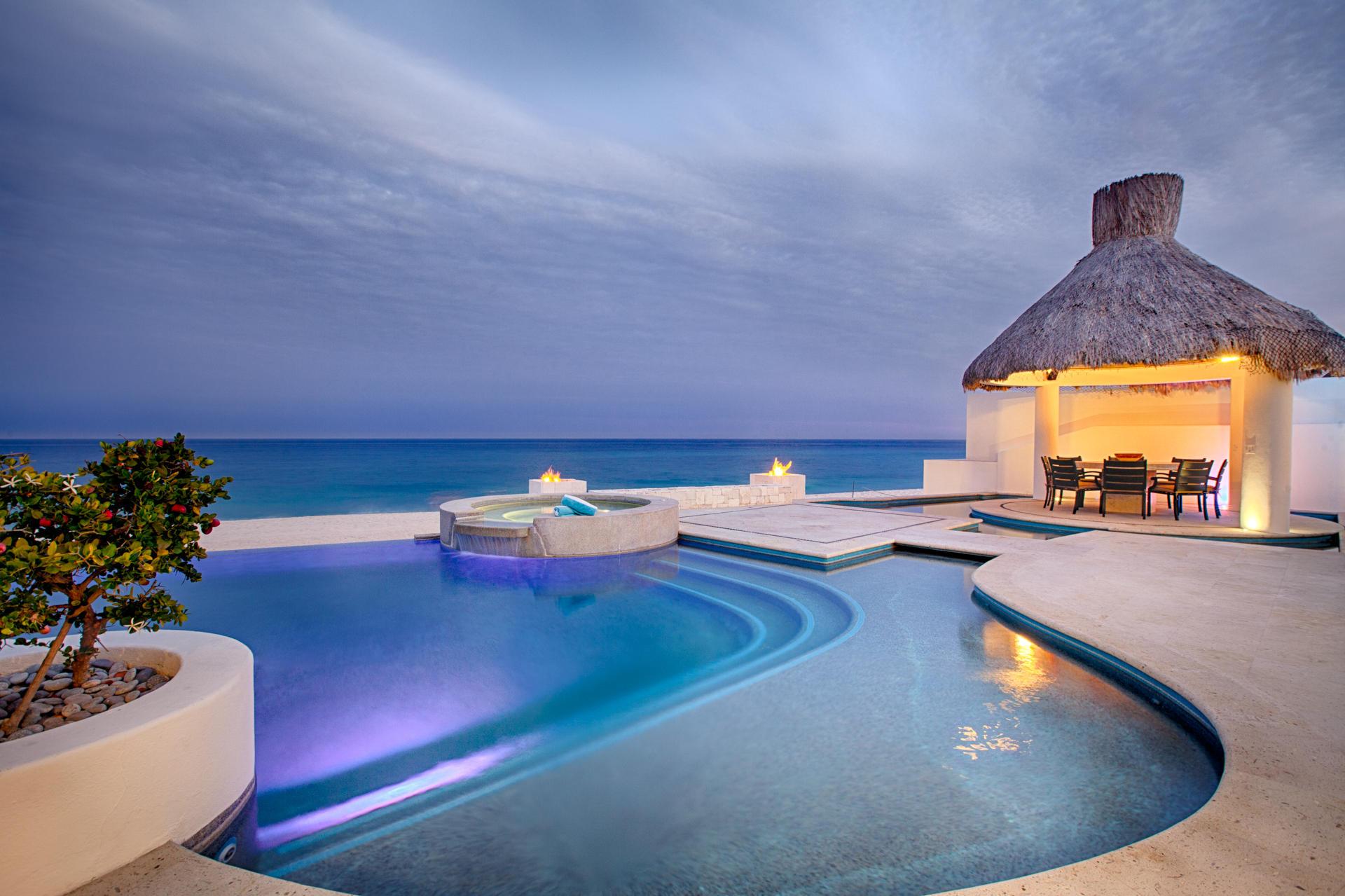 Oceanfront Villa Blue Sea-40