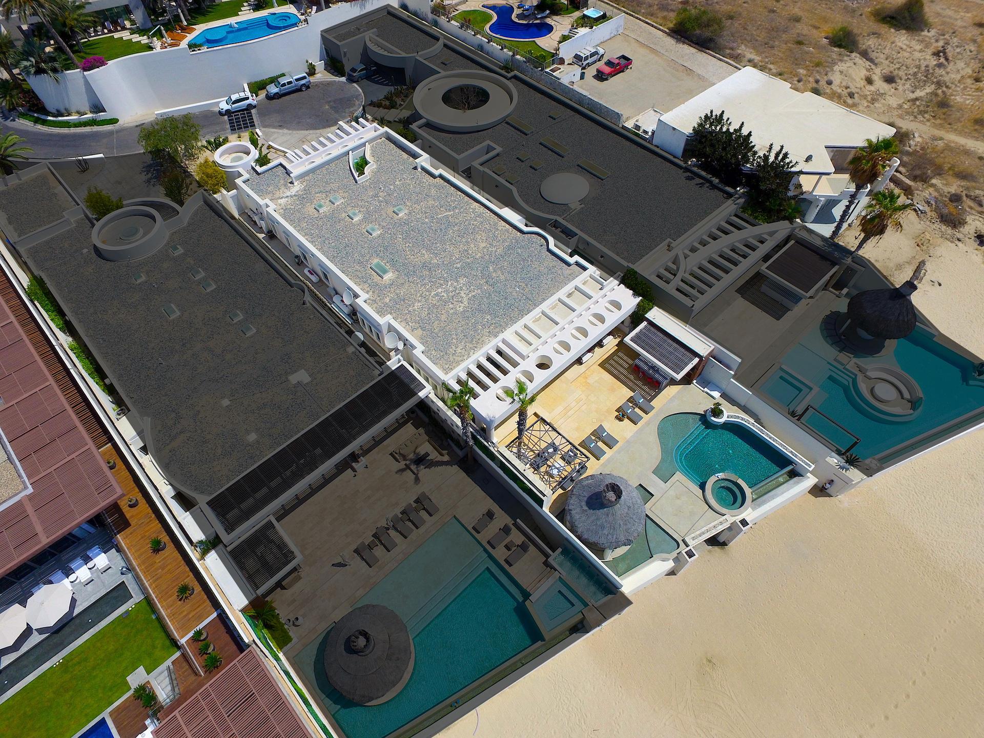 Oceanfront Villa Blue Sea-42