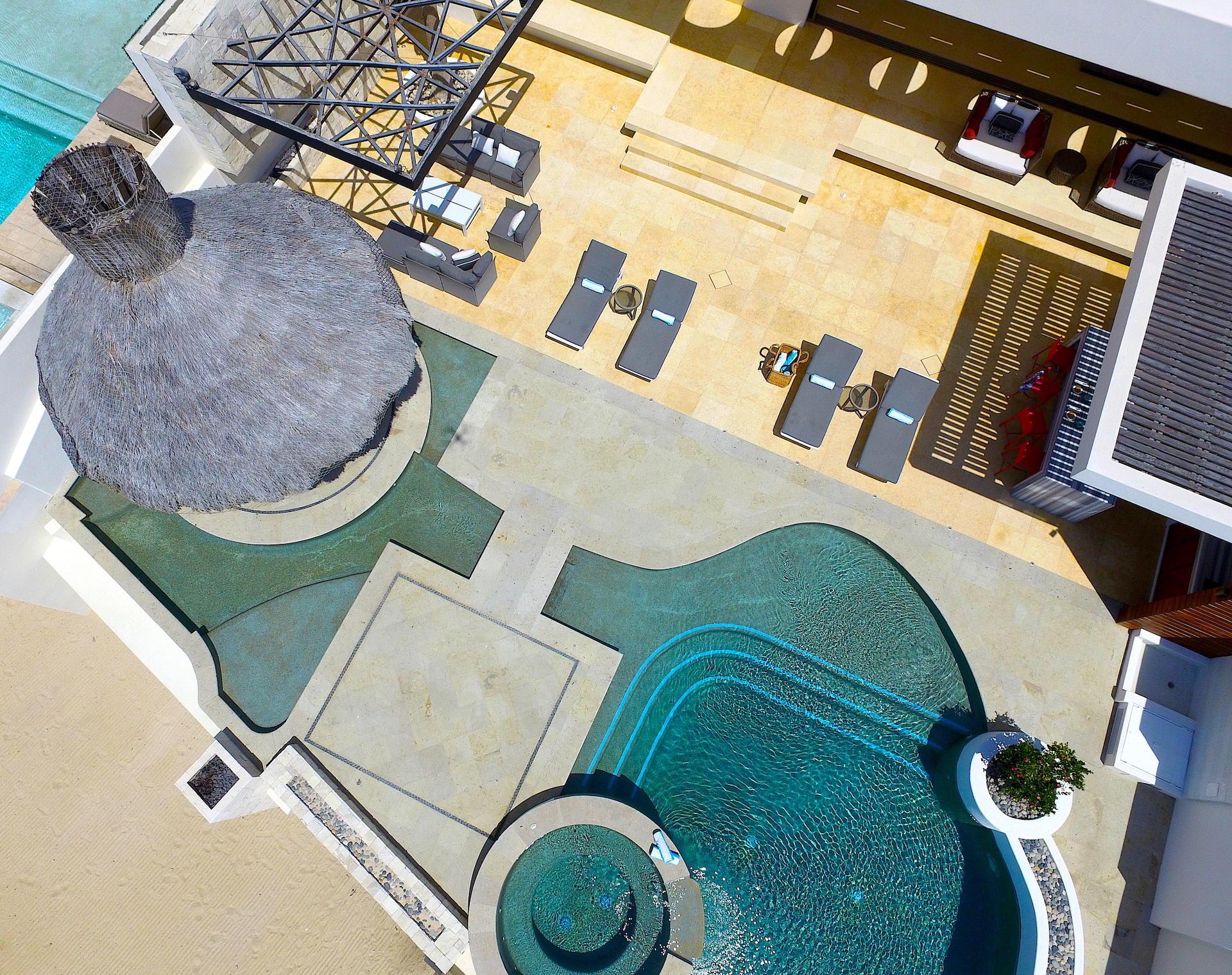 Oceanfront Villa Blue Sea-43