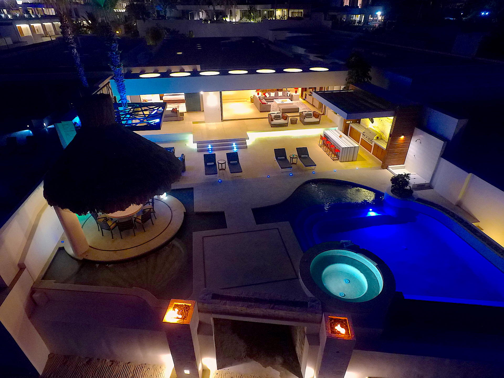 Oceanfront Villa Blue Sea-46