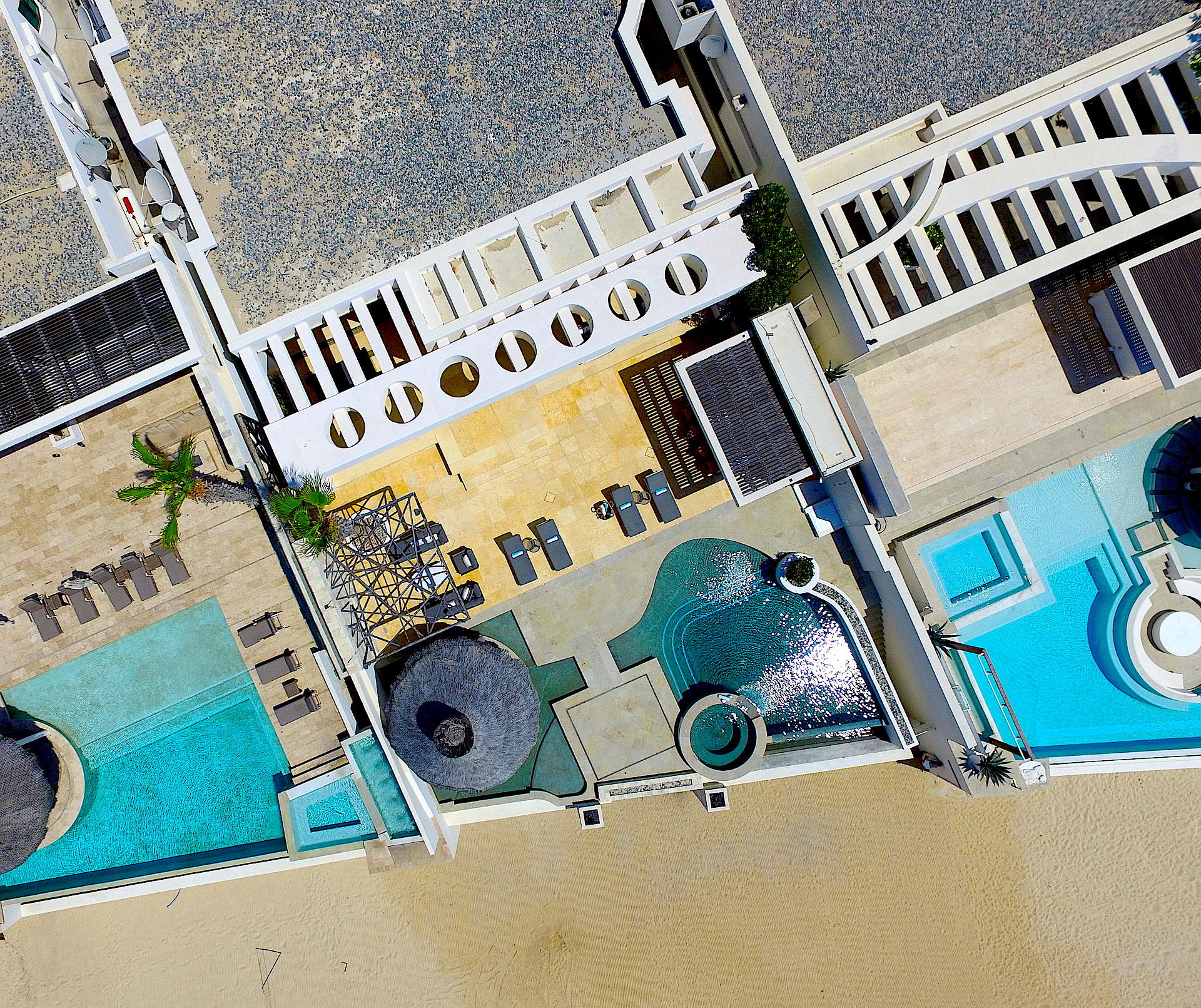 Oceanfront Villa Blue Sea-50