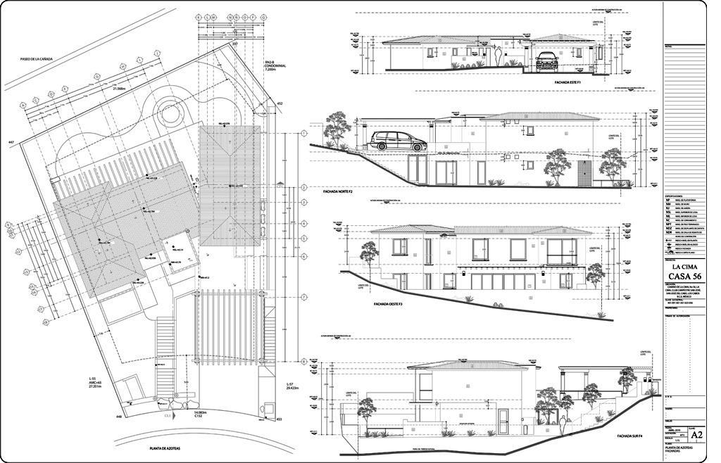 San Jose del Cabo, 4 Bedrooms Bedrooms, ,3 BathroomsBathrooms,House,For Sale,LA CIMA,19-2700