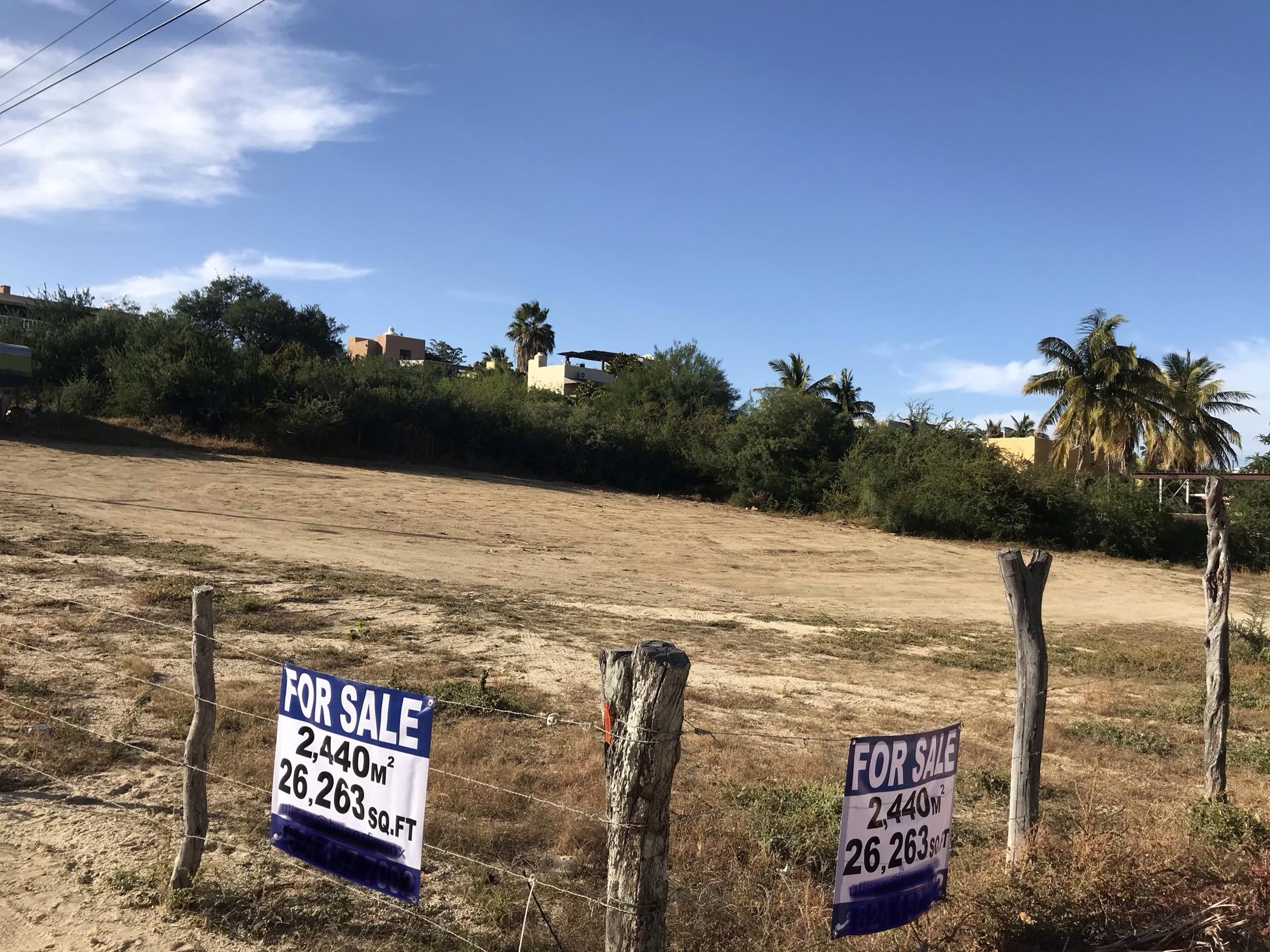 East Cape, ,Land,For Sale,CALLE DE ACCESO,20-306