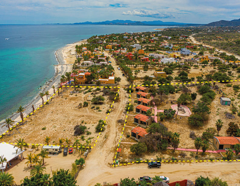 East Cape, ,Land,For Sale,-Beach Road North Los Barriles,20-1054