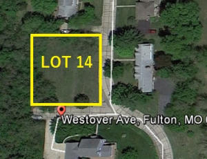 LOT 14 WESTOVER/PARKVIEW AVE, FULTON, MO 65251