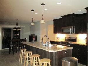 Property Photo: Kitchen & Breakfast Area
