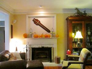 Property Photo: Fireplace in LR