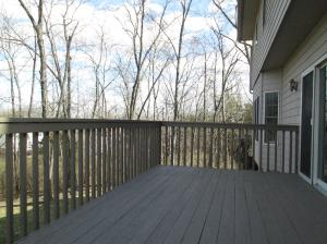Property Photo: New Deck Flooring & Stain