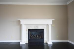 Property Photo: Wood Burning Fireplace