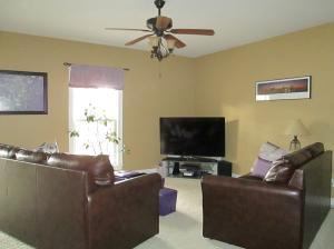 Property Photo: Cozy Family Room Area