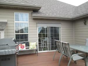 Property Photo: Built-in Gas BBQ Grill on Deck