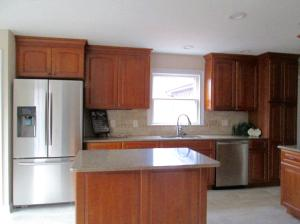 Property Photo: Kitchen Breakfast Bar Island