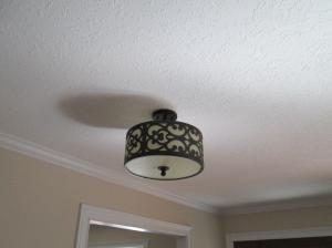 Property Photo: Designer Foyer Light