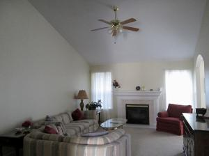 Property Photo: Living Room Fireplace
