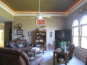 Property Photo: Living Room Arched Windows