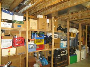 Property Photo: Storage Shelves
