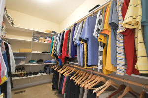 Property Photo: Master Walk-In Closet