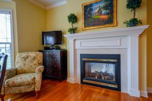 Property Photo: See Thru Gas Fireplace