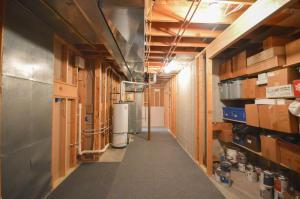 Property Photo: Unfinished Storage Area