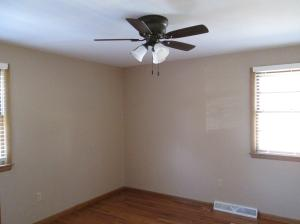 Property Photo: Master Bedroom New Ceiling Fan