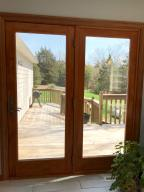 Property Photo: 5060 Hickory Hills Atrium doors to Deck