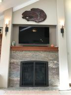 Property Photo: 5060 Hickory Hills Fireplace