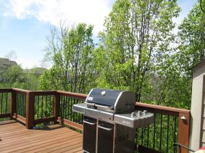 Property Photo: Trees Provide Privacy for Deck