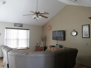 Property Photo: Living Room Vaulted Ceiling