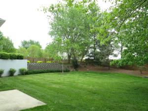 Property Photo: Landscaped Retaining Wall