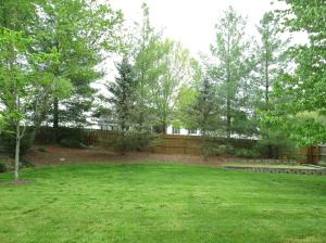 Property Photo: Large Level & Private Yard
