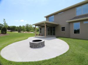 Property Photo: Patio and fire-pit
