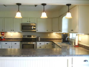 Property Photo: Kitchen Under Counter Lights