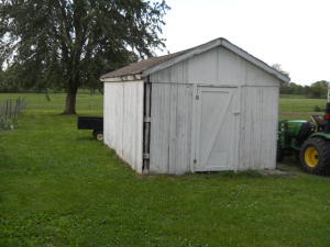 Property Photo: Lawn Storaage Shed